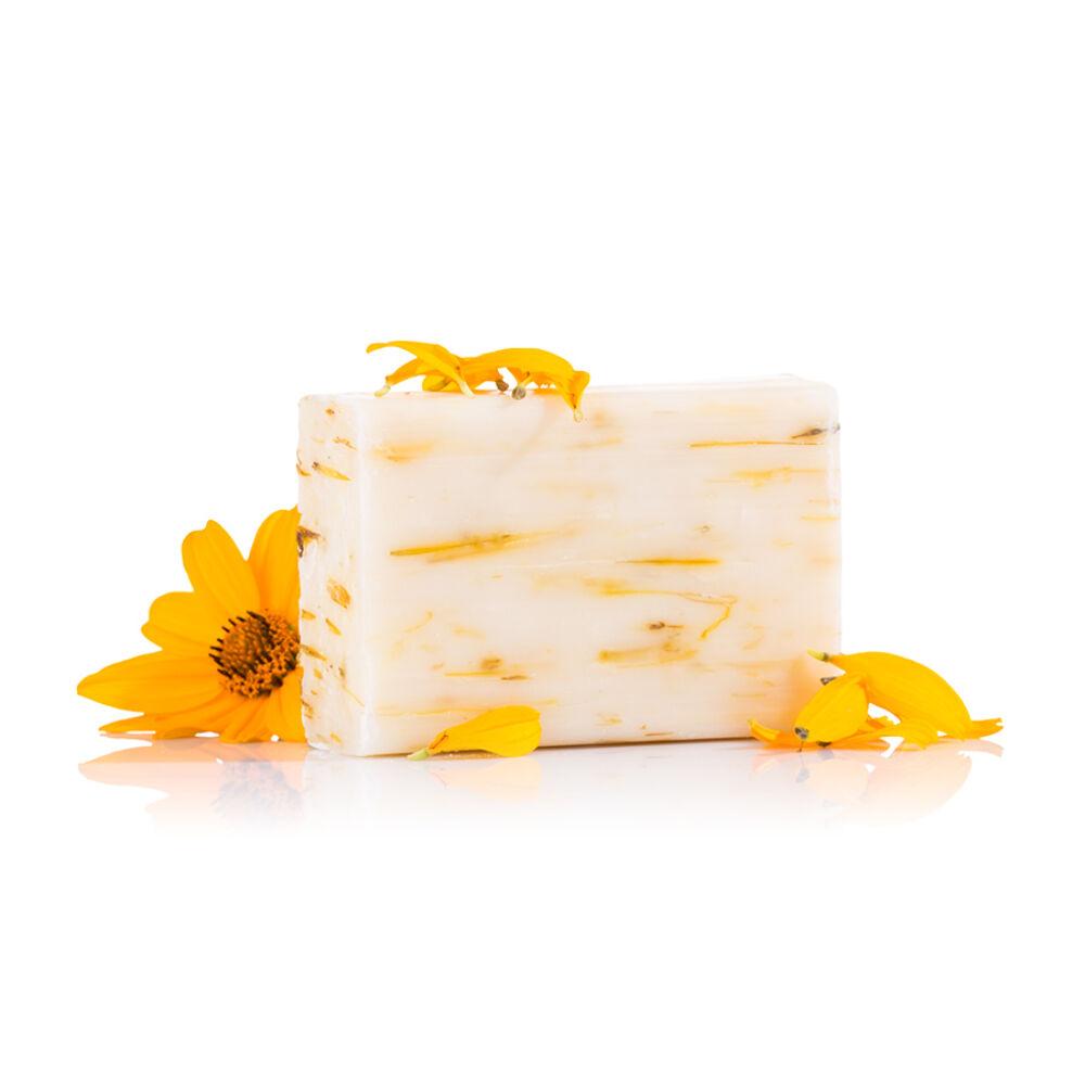 mydlo, mydlo lisované za studena, Nechtíkové rastlinné mydlo lisované za studena
