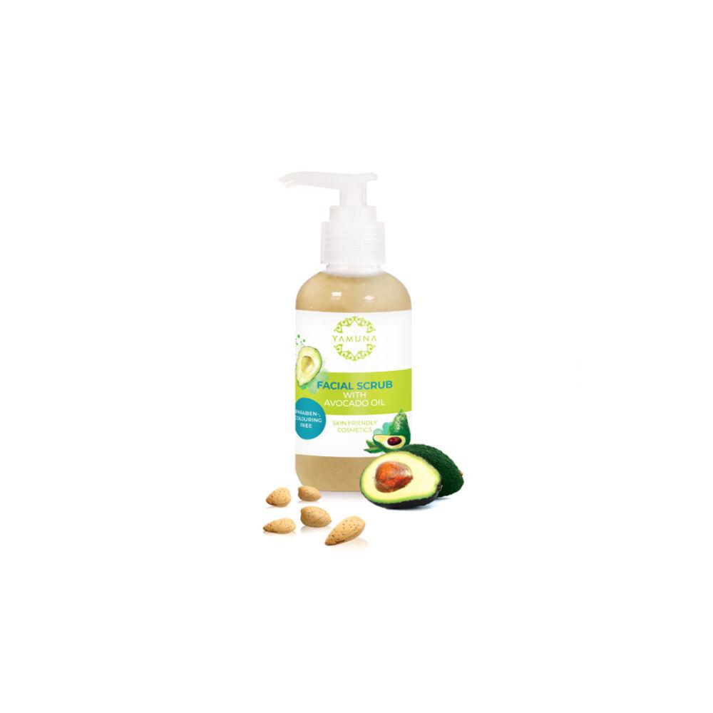 Yamuna pleťový peeling s avokádovým olejom