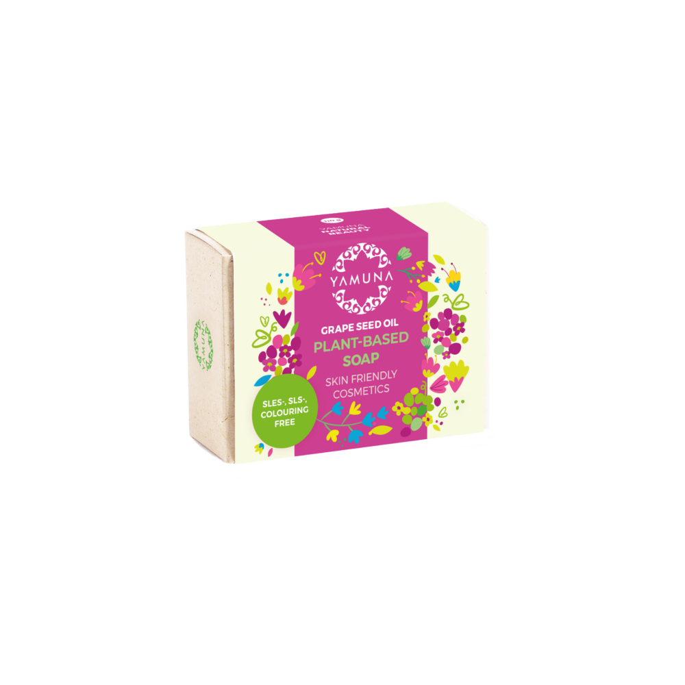 yamuna, valentín, Prémiové mydlo s olejom z hroznových jadierok