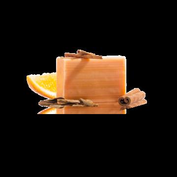 mydlo, mydlo lisované za studena, Yamuna pomarančovo-škoricové mydlo lisované za studena