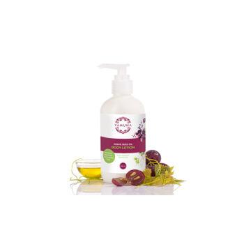 Yamuna Hydratačné telové mlieko s olejom z hroznových jadierok
