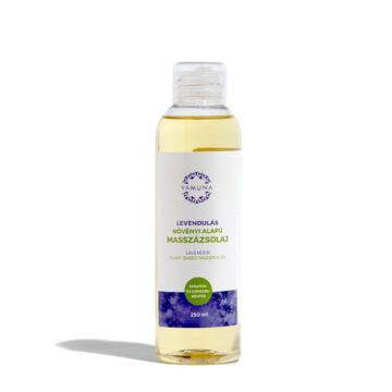Yamuna Levanduľový rastlinný masážny olej