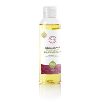 Yamuna Rastlinný masážny olej s olejom z hroznových jadierok