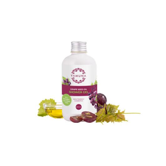 Yamuna Vyživujúci sprchovací gél s olejom z hroznových jadierok