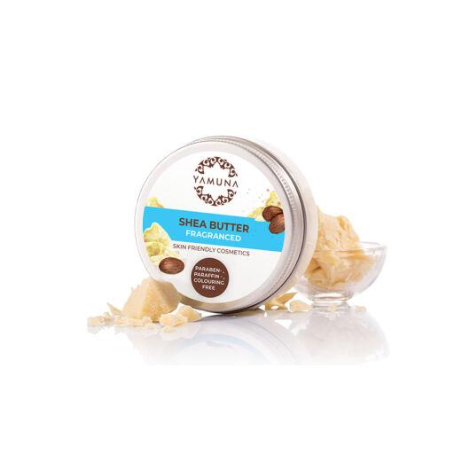 Telové maslá, yamuna, Bambucké maslo s jemnou vôňou mandlí