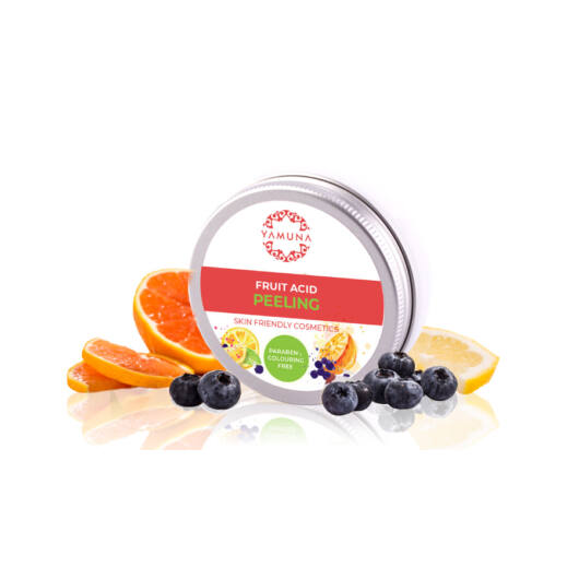 Yamuna Pleťový peeling s ovocnými kyselinami
