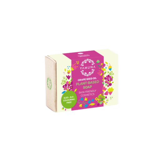 yamuna, prémiové mydlo s olejom z hroznových jadierok