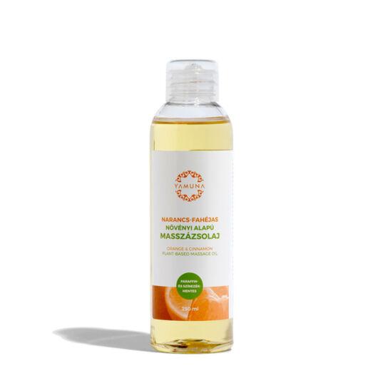 Yamuna Pomarančovo-škoricový rastlinný masážny olej