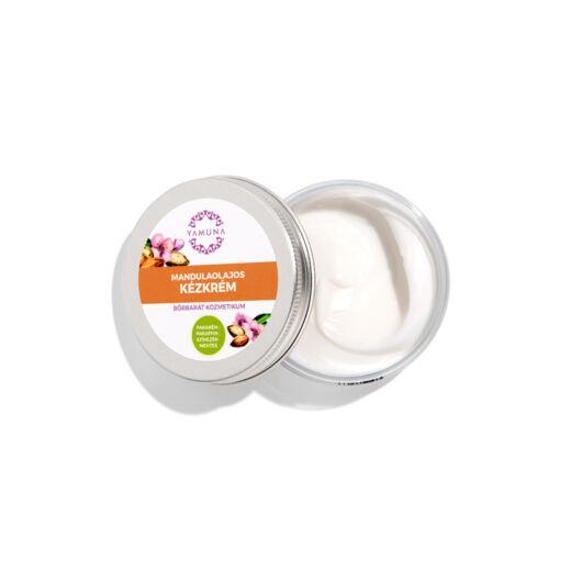 Yamuna Krém na ruky s mandľovým olejom